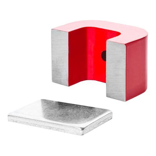 U-Magnet mit Montagebohrung