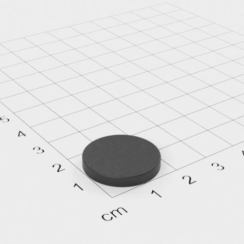 Ferrit Scheibenmagnet, 20x3mm, Grade Y30