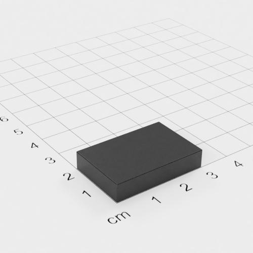 Ferrit Quadermagnet 30x20x6mm, Grade Y30
