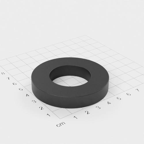 Ferrit Ringmagnet, 60x10mm mit 32mm Bohrung, Grade Y30