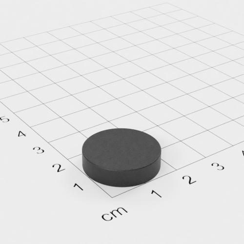 Ferrit Scheibenmagnet, 20x5mm, Grade Y30