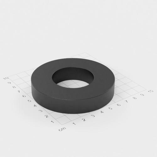 Ferrit Ringmagnet, 80x15mm mit 40mm Bohrung, Grade Y30