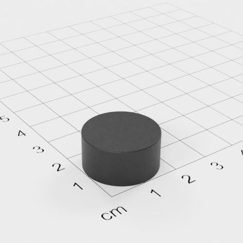 Ferrit Scheibenmagnet, 20x10mm, Grade Y30