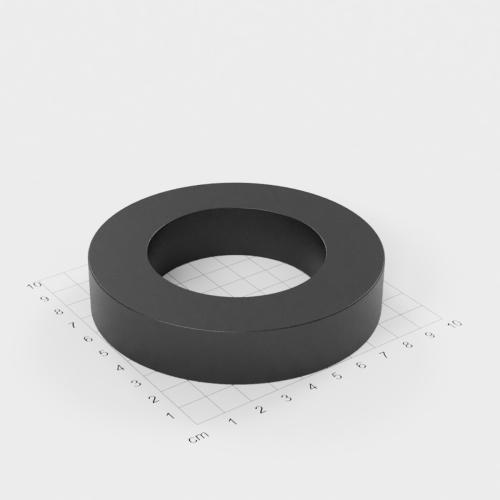 Ferrit Ringmagnet, 100x20mm mit 60mm Bohrung, Grade Y30
