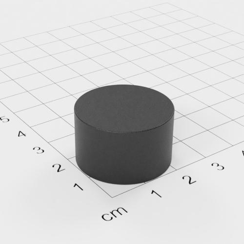 Ferrit Scheibenmagnet, 25x15mm, Grade Y30