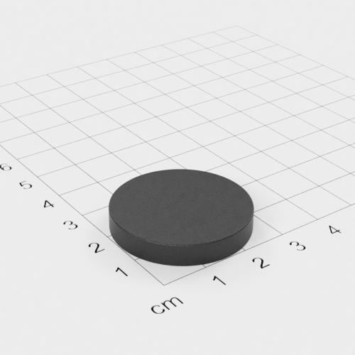 Ferrit Scheibenmagnet, 30x5mm, Grade Y30