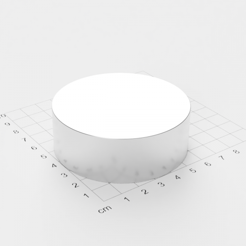 Neodym Scheibenmagnet, 70x25mm, vernickelt, Grade N42
