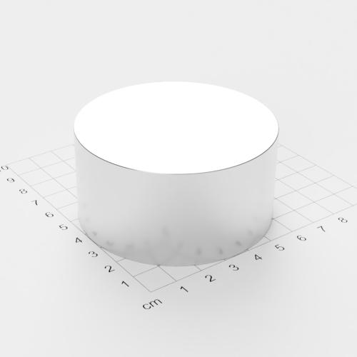 Neodym Scheibenmagnet, 70x35mm, vernickelt, Grade N45