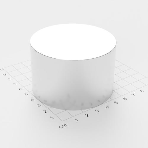 Neodym Scheibenmagnet, 70x45mm, vernickelt, Grade N52