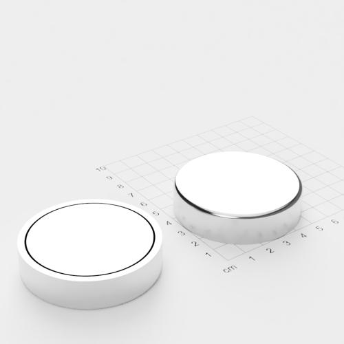 Topfmagnet, D=60 mm, H=15 mm, Grade N42