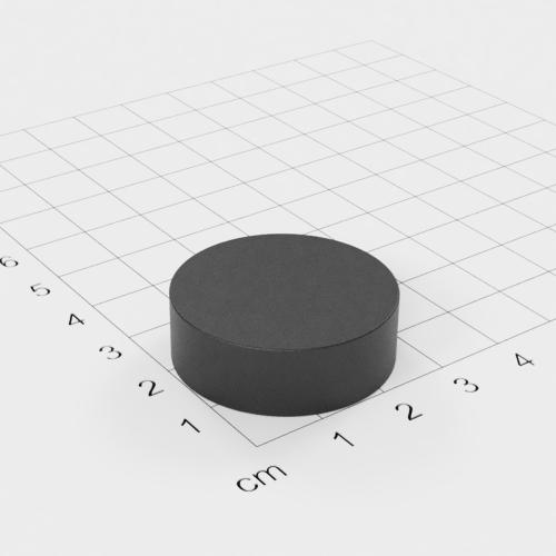 Ferrit Scheibenmagnet, 30x10mm, Grade Y30