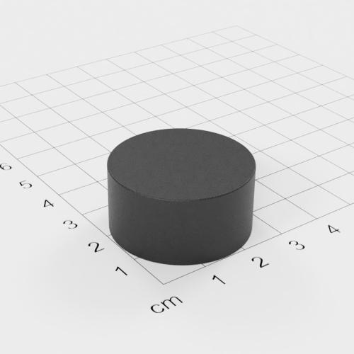 Ferrit Scheibenmagnet, 30x15mm, Grade Y30