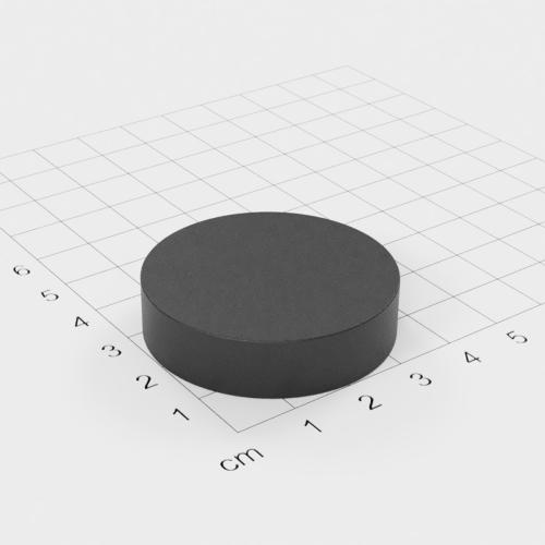 Ferrit Scheibenmagnet, 40x10mm, Grade Y30