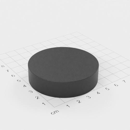 Ferrit Scheibenmagnet, 60x15mm, Grade Y30