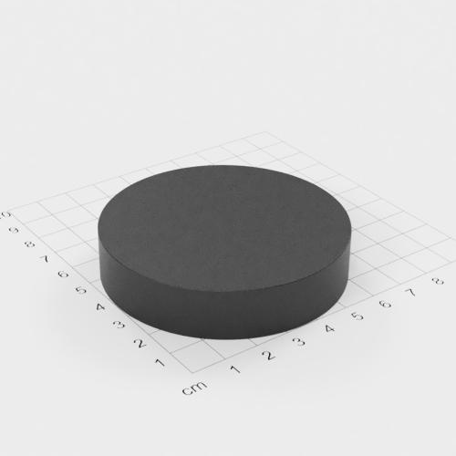 Ferrit Scheibenmagnet, 70x15mm, Grade Y30