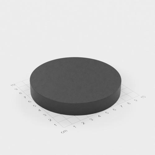 Ferrit Scheibenmagnet, 100x15mm, Grade Y30