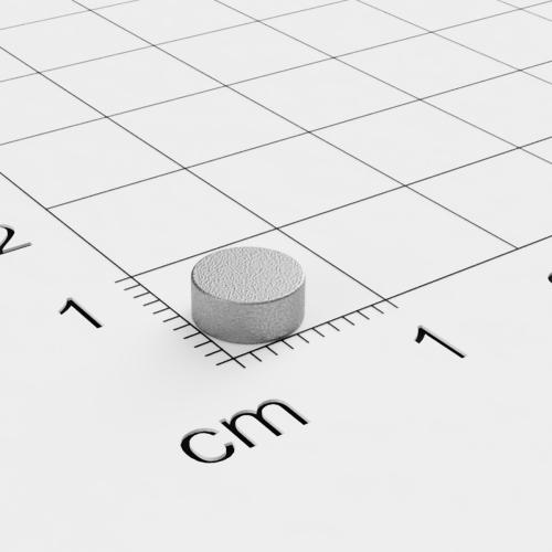 Scheibenmagnet, 6x2.5mm, Samarium-Cobalt, bis 350°C