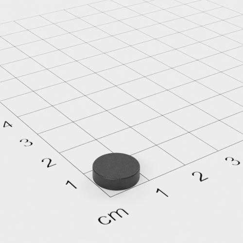 Ferrit Scheibenmagnet, 10x3mm, Grade Y30