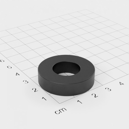 Ferrit Ringmagnet, 31.5x8mm mit 15.8mm Bohrung, Grade Y30