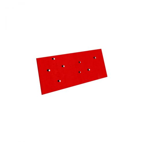 Edles Magnetboard - Glas - 200x600mm - Rot