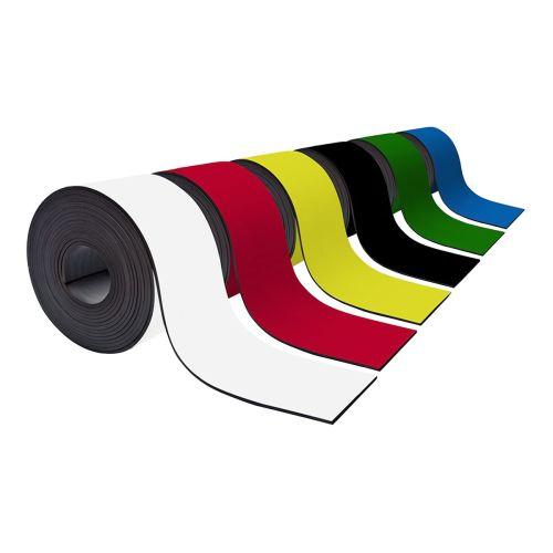 Farbiges Magnetband 100mm breit zum Beschriften und Zuschneiden