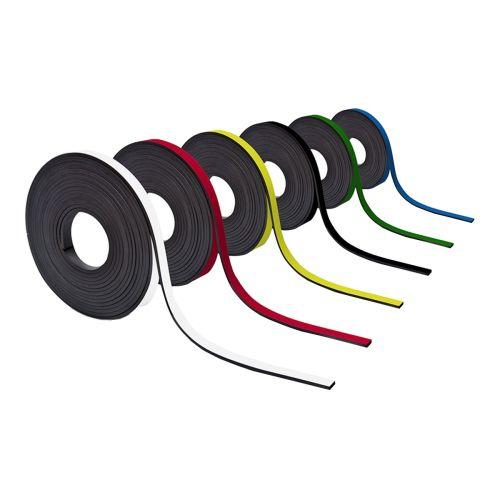 Farbiges Magnetband 10mm breit zum Beschriften und Zuschneiden