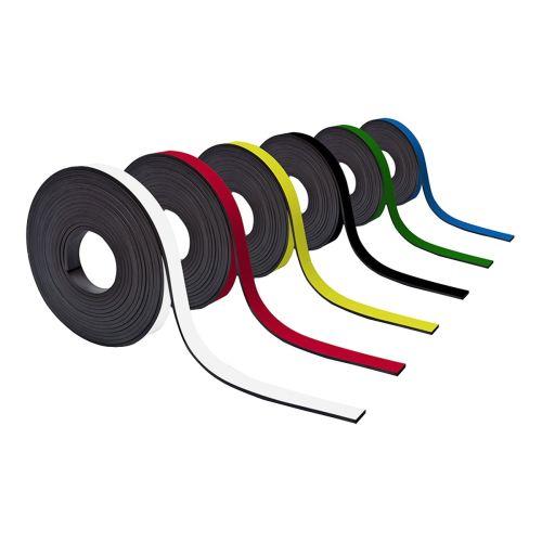Farbiges Magnetband 15mm breit zum Beschriften und Zuschneiden