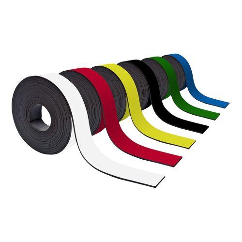 Farbiges Magnetband 40mm breit zum Beschriften und Zuschneiden