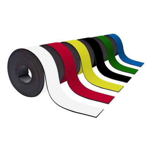 Farbiges Magnetband 50mm breit zum Beschriften und Zuschneiden