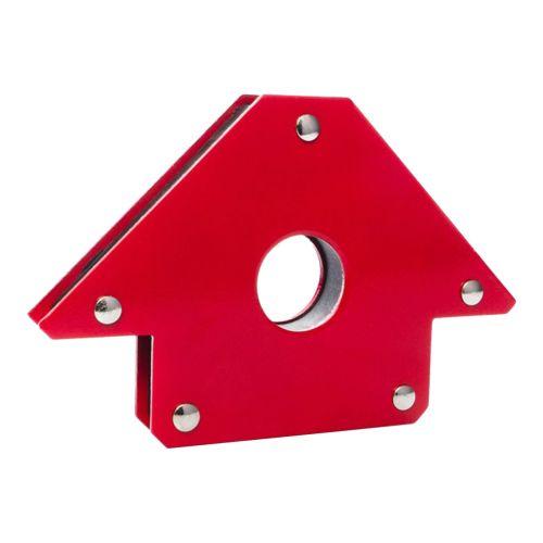 Magnetischer Schweißhilfe-Winkel, rot bis 22,5Kg