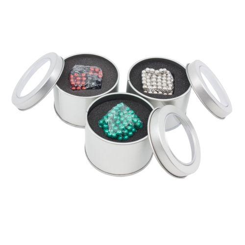 Beispielbild Neocube aus 5mm Magnetkugeln - Set mit 216 Kugeln zum Würfel geformt, B-Ware - Farbe zufällig
