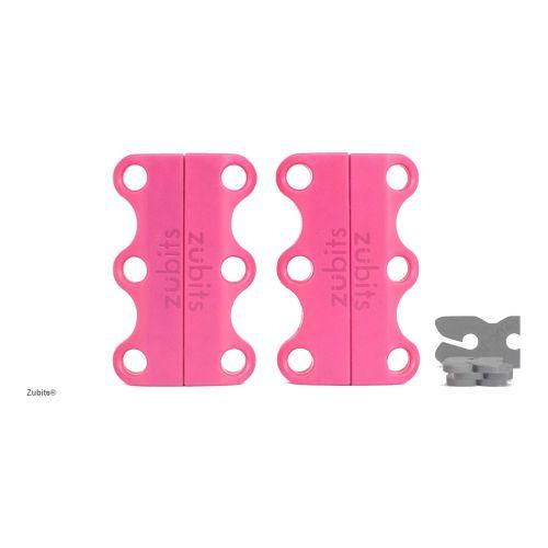 Zubits® Magnetische Schuhbinder, für Kinder, das Original-Pink