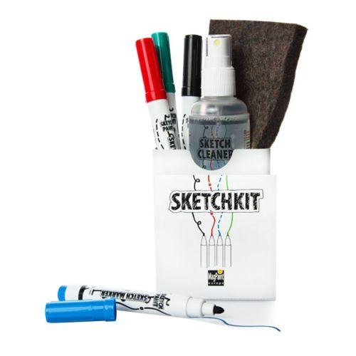 Sketch - Set, Cleaner, Marker, Putztuch