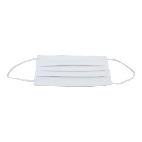 Waschbare Baumwollmaske - weiß